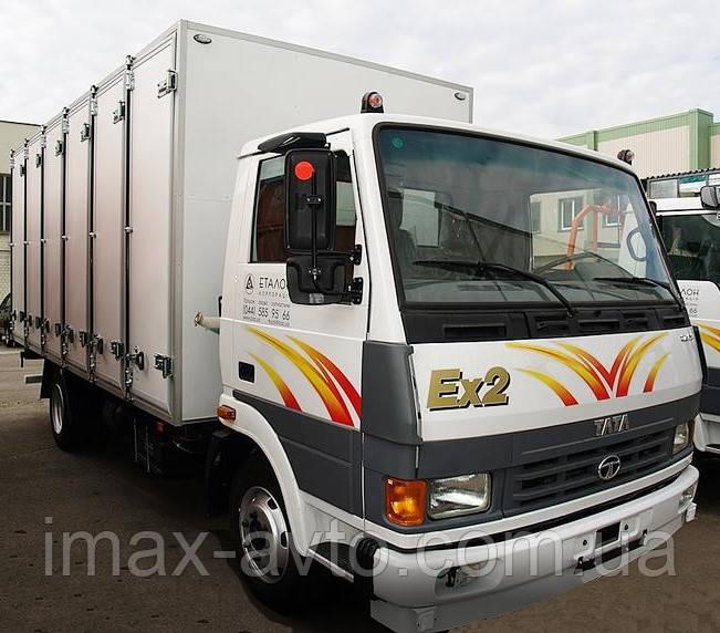 Кузов-фургон хлебный на а/м ТАТА
