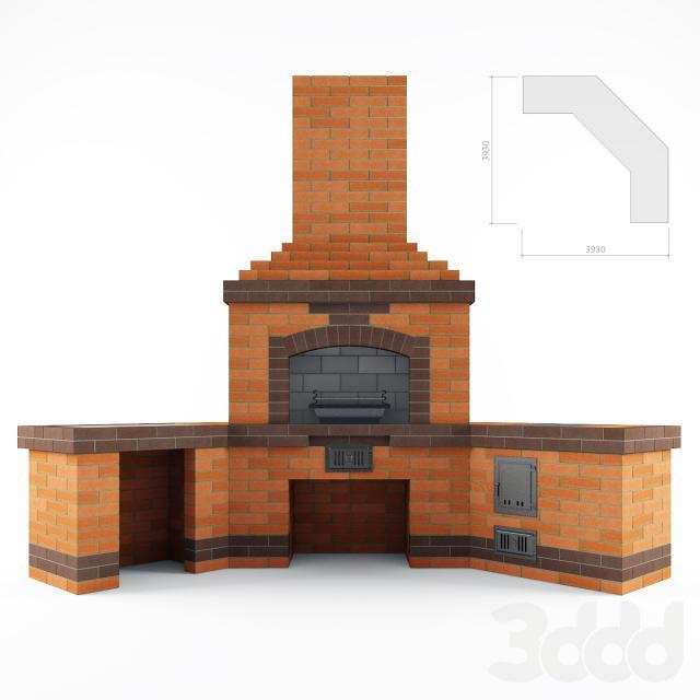 Стоимость фундамента под барбекю дизайн порталы под электрокамин