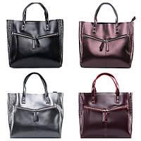 Сумка шоппер кожа , Женские кожаные сумки шопер, фото 1
