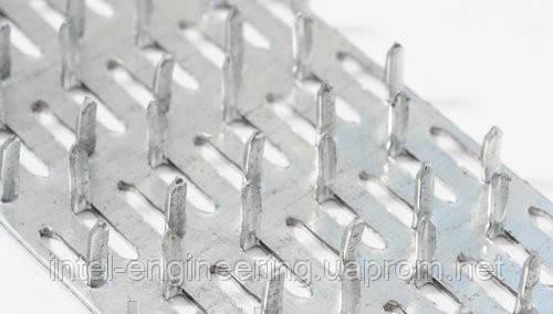 Пластина зубчатая металлическая
