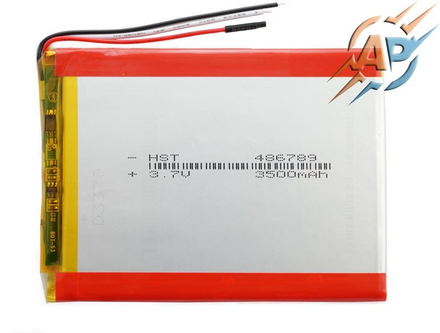 Аккумулятор 3500mAh 456690 для планшетов на 3 контакта (3 pin)