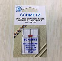 Игла SCHMETZ 130/705H ZWI NE 4,0 №  90, двойная (1шт/уп)