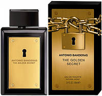 Antonio Banderas The Golden Secret туалетная вода 100 ml. (Антонио Бандерас Зе Голден Сикрет)