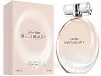 Calvin Klein Sheer Beauty туалетная вода 100 ml. (Кельвин Кляйн Шеер Бьюти), фото 1
