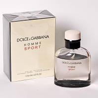 Dolce & Gabbana Homme Sport туалетная вода 125 ml. (Дольче Габбана Хом Спорт), фото 1