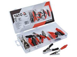 Набор электрических зажимов типа «Крокодил» Yato YT-06870