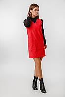 Женское платье-сарафан вельветовое /разные цвета, 42-46, LL-023/