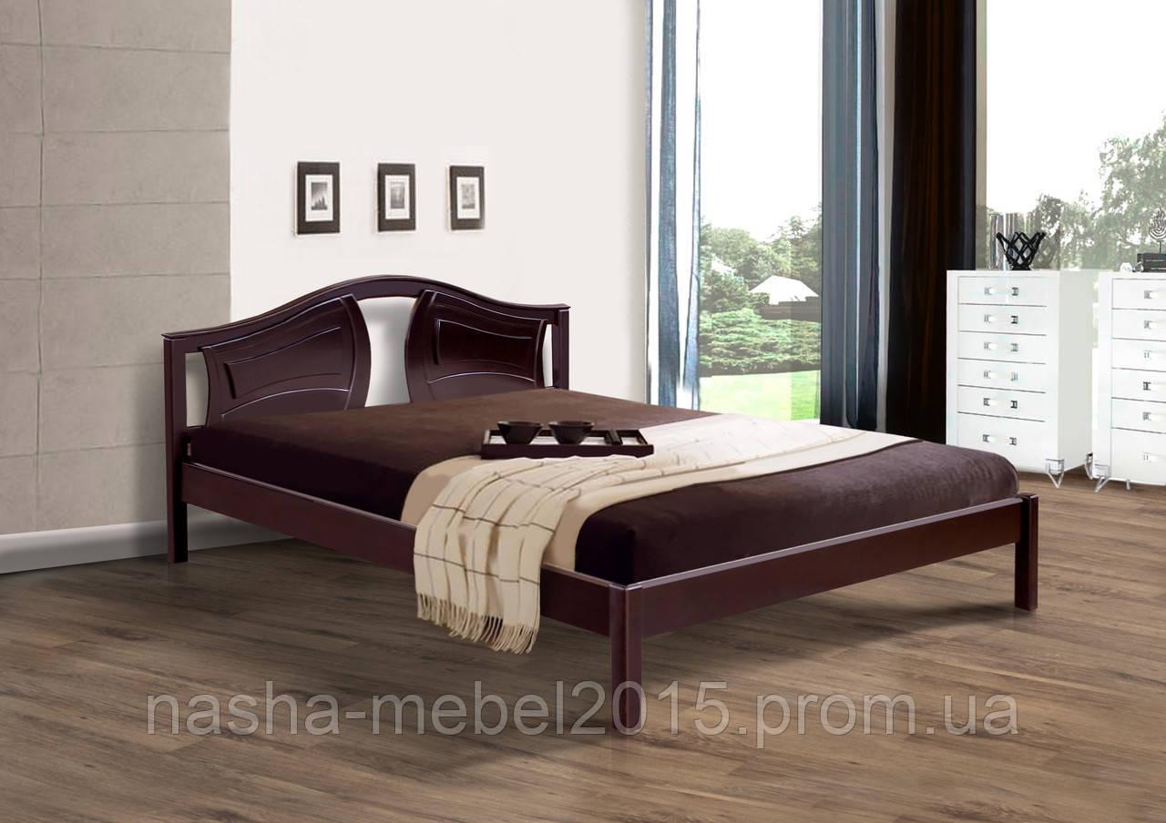 Деревянная Кровать двухспальная Марго 1,6м