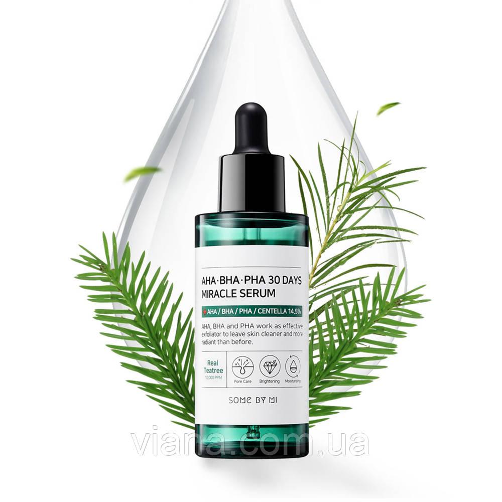 Кислотная сыворотка для проблемной кожи  Some By Mi AHA BHA PHA 30 Days Miracle Serum 50 ml