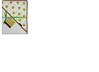 """Уголок для купания с термопечатью """"Bamboo"""" 100 х 100 см ( код 717) 70%-бамбук 30%-хлопок Duetbaby ( Польша)"""