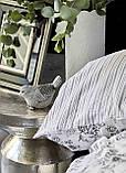 Набор Постельное белье с пледом Евро Brave silver Karaca Home, фото 5