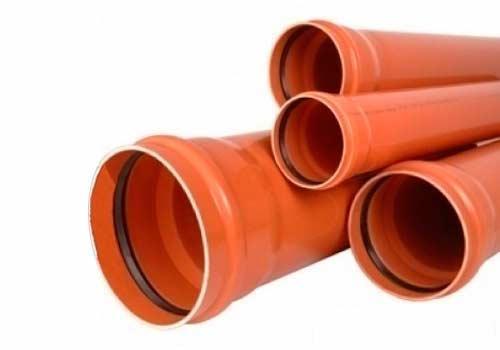 Труба каналізаційна наруж Polimersnab 110х3,2мм 3м SN4