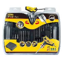 Отвертка - набор STANLEY FatMaxс Т- рукоятка с храповым механизмом и набором бит 43 предмета (0-96-222)