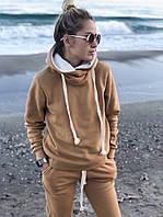 Женский спортивный костюм на флисе очень теплый норма и батал, фото 1