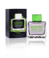 Antonio Banderas Electric Seduction In Black For Men туалетная вода 100 ml. (Электрик Седакшн Ин Блек Фор Мен), фото 1