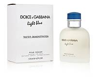 Dolce & Gabbana Light Blue Pour Homme туалетная вода 125 ml. (Тестер Дольче Габбана Лайт Блю пур Ом), фото 1