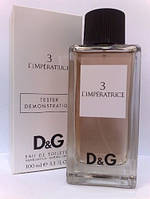 Dolce & Gabbana Anthology L`Imperatrice 3 туалетная вода 100 ml. (Тестер Дольче Габбана Л Императрица № 3), фото 1