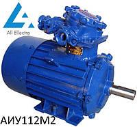 Взрывозащищенный электродвигатель АИУ112М2 7,5 кВт 3000об/мин