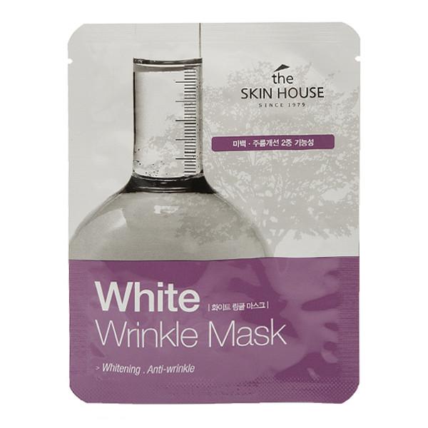 Восстанавливающая антивозрастная тканевая маска The Skin House White Wrinkle Mask