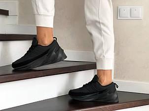 Подростковые зимние кроссовки Adidas Sharks,черные, фото 2