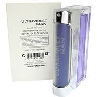 Paco Rabanne Ultraviolet Man туалетная вода 100 ml. (Тестер Пако Рабан Ультрафиолет Мен), фото 1