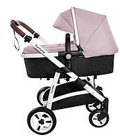Детская коляска 2 в 1 Carrello Fortuna CRL-9001/1 Coral pink (Каррелло, Китай)