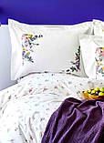 Набор Постельное белье с пледом Евро Fertile Karaca Home, фото 2