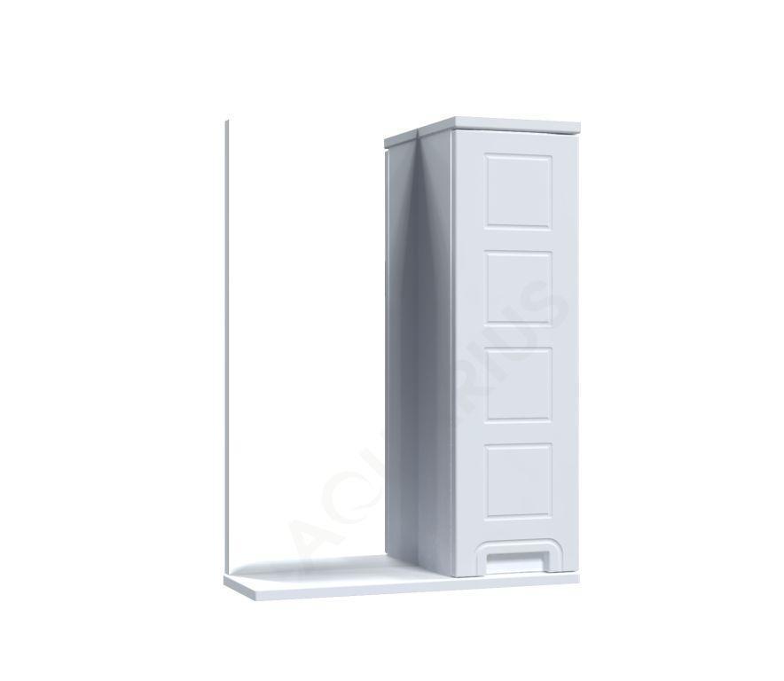 Зеркало Аквариус Cимфония со шкафчиком 50 см