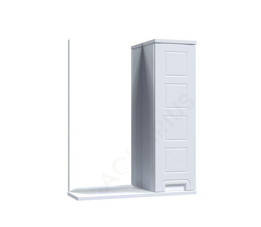 Зеркало Аквариус Cимфония со шкафчиком 55 см