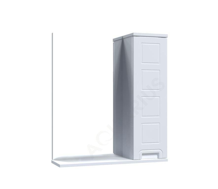 Зеркало Аквариус Cимфония со шкафчиком 60 см