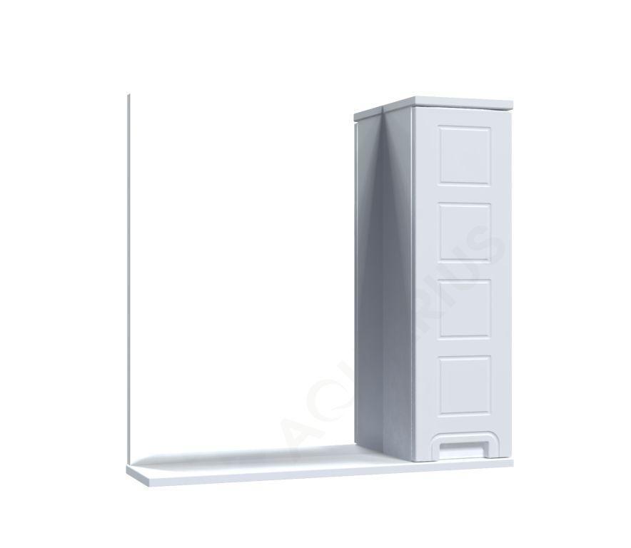 Зеркало Аквариус Cимфония со шкафчиком 70 см