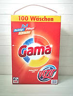 Порошок для стирки Vizir Gama 3in1 (100 стирок) 6,5кг (Испания)