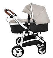 Детская коляска 2 в 1 Carrello Fortuna CRL-9001/1 Peanut beige (Каррелло, Китай)