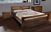 Деревянная Кровать двуспальная дубовая Модерн 1,6м