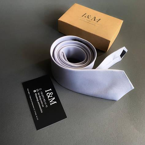 Галстук I&M Craft светло-серый (020340), фото 2