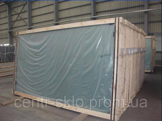 Листовое Флоат стекло в ящиках 2-10 мм (Формат 3210*2250 мм, 2250*1605 мм, 2550*1605 мм.)