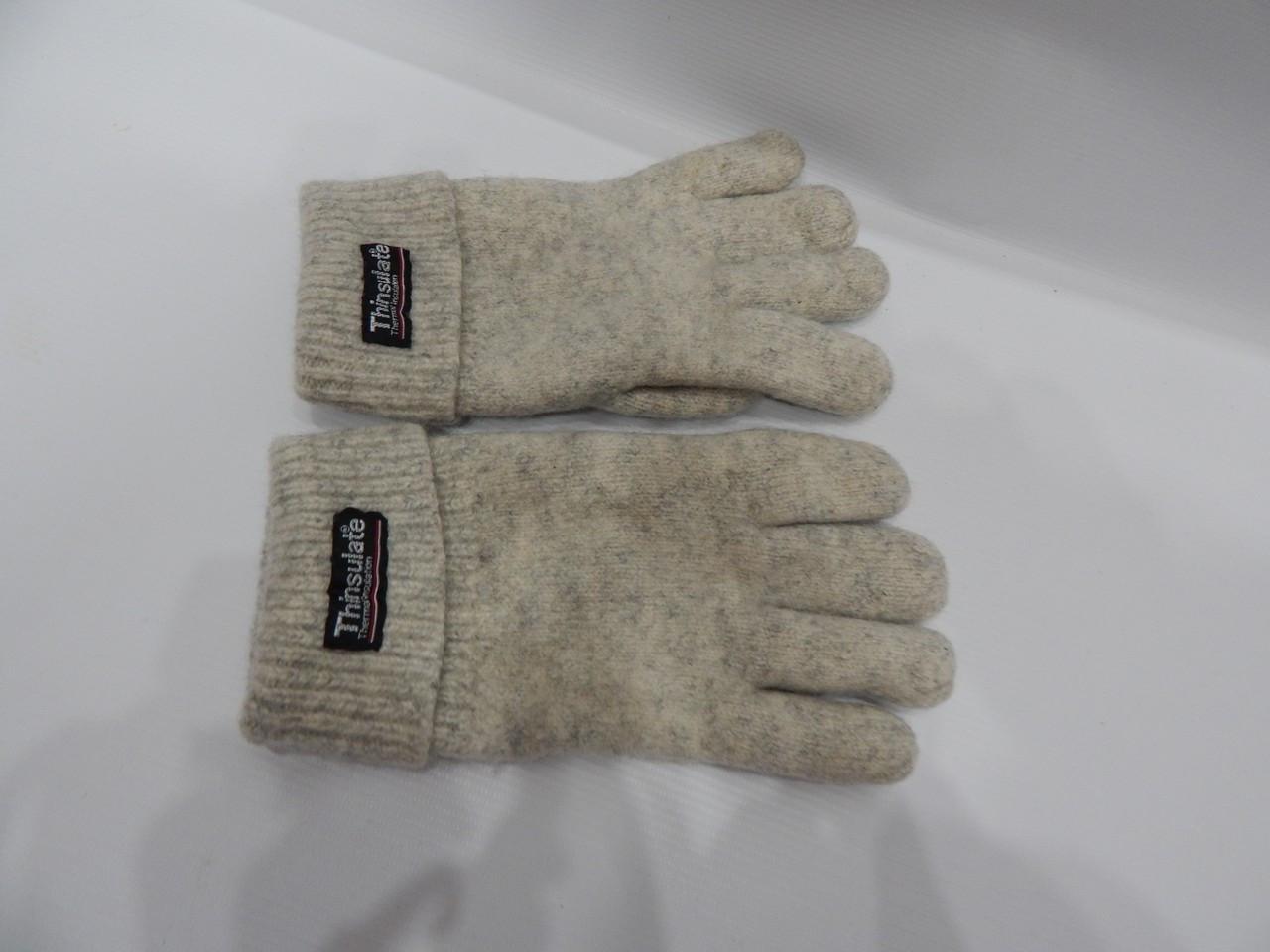 Перчатки мужские теплые шерстяные TCM р.M(8) 018PMZ