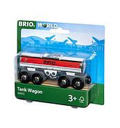 BRIO World АКСЕССУАРЫ ТРАНСПОРТ Вагон-цистерна для бензина 33472, фото 2