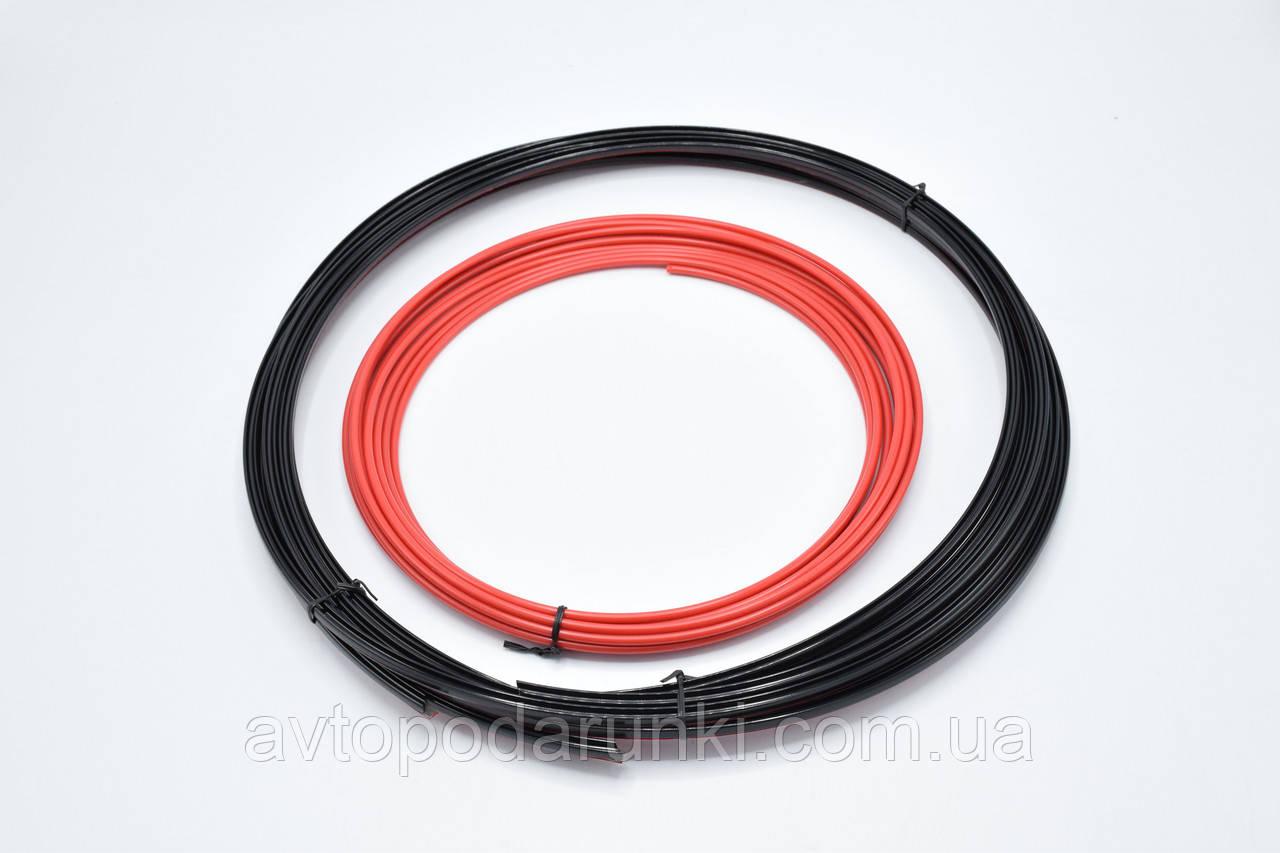 Молдинг усиленный на литые диски MEI LUN BAO/ сменный элемент декора / Красный / 8,15м