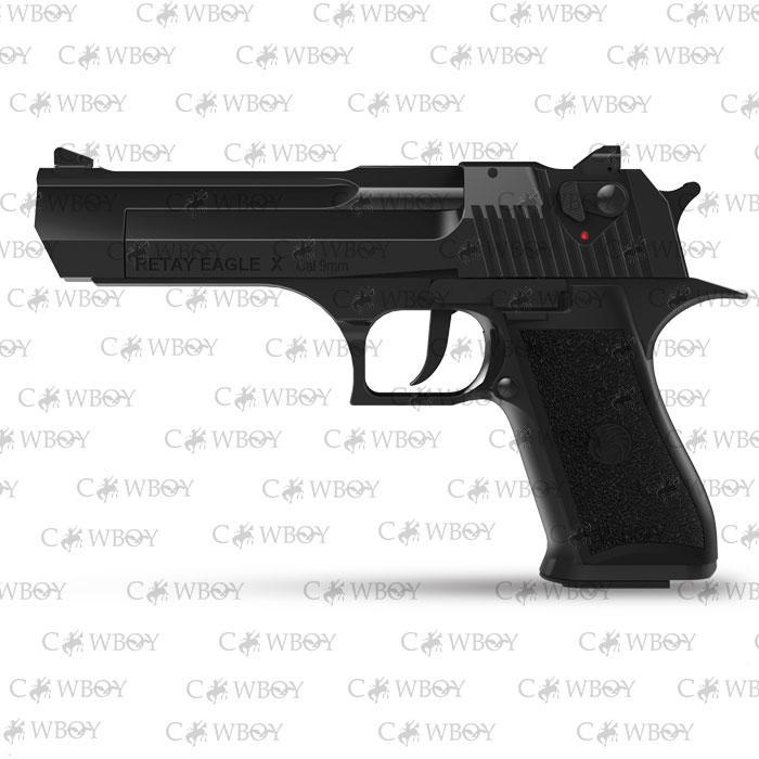Пистолет стартовый Retay Eagle X, black