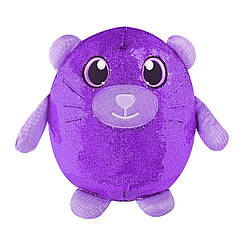 М'яка іграшка з паєтками SHIMMEEZ – ШВИДКИЙ КОТИК (36 см)