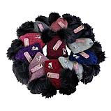 М 5112 Шапочка для дівчинки з помпоном , різні кольори, фото 5