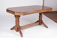 Стол обеденный деревянный Буковель орех