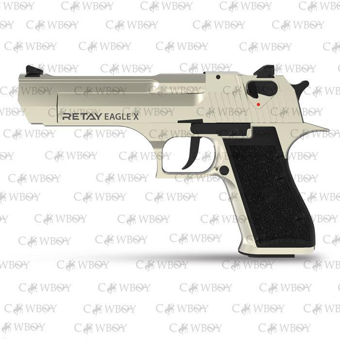 Пистолет стартовый Retay Eagle X, satin