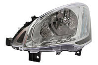 Фара передняя Citroen Berlingo/Peugeot Partner 2012- правая електр. + мотор H4/PY21W/W5W 552-1141RMLD-EM