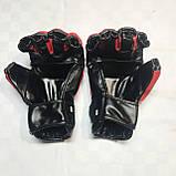 Перчатки для единоборств  Lev-Sport М1 (ММА) Красные S, фото 3