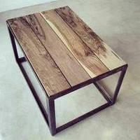 """Журнальный столик """"Wood"""", кофейный столик, столик для прихожей, маленький столик,"""