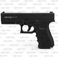 Пистолет стартовый Retay G17, black