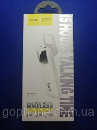 Bluetooth гарнитура Hoco E37 White, фото 2
