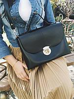 Деловая женская сумка портфель М186-34 с ручкой и ремешком, фото 1